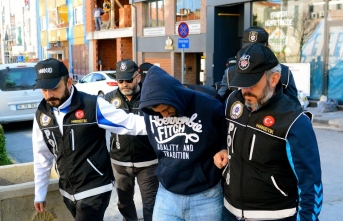 Eskişehir'deki uyuşturucu operasyonunda 3 tutuklama