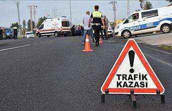 Eskişehir'de zincirleme trafik kazası: 3 yaralı