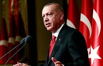 Erdoğan'dan şehit ailelerine başsağlığı mesajı