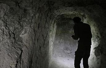 Rasulayn'da terör örgüne ait tünel bulundu
