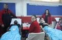 Eskişehirsporlu oyunculardan kan bağışına destek