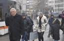 Eskişehir'de aynı gün karlı ve güneşi hava...