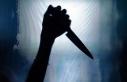 Eşinin bıçaklı saldırısına uğrayan kadın...