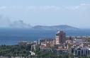 Kınalıada'da yangın!