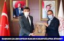 Başkan Çalışkan'dan Bakan Mehmet Muharrem Kasapoğlu...