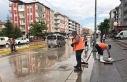 Eskişehir'de 10 dakikalık yağmur hayatı felç...