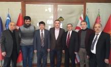 Eskişehir Kızılelma Turan Derneği'nden Türk Dünyası Vakfı'na ziyaret