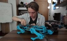 Robot köpek ile TÜBİTAK yarışmasında Türkiye 3'üncüsü oldu