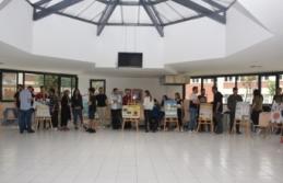 BÖTE Bölümü öğrencilerinden dönem sonu sergisi