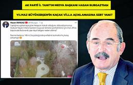 Yılmaz Büyükerşen'in kaçak villasına tepkiler...