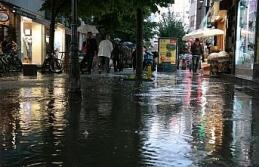 Eskişehir'de şiddetli yağış