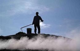 Mangal kömürü işçilerinin bin 400 rakımdaki...
