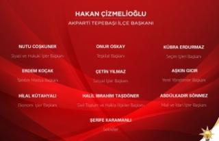 AK Parti Tepebaşı'nda yürütme kurulu belli...