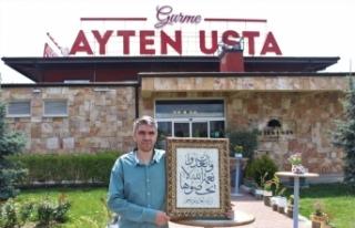 Ayten Usta'da Ramazan ayında anlamlı sergi