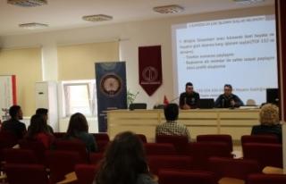 'Bilgi Yazar' projesiyle öğrencilere siber suçlar...