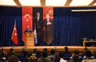 Emniyet Genel Müdürü, Anadolu Üniversitesinde...
