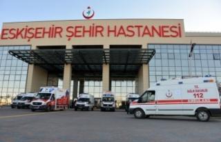 Eskişehir Şehir Hastanesi'nin 6 aylık hizmet...