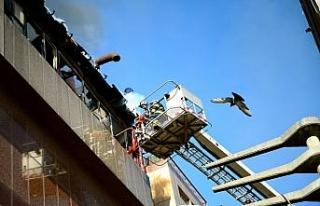 Eskişehir'de otel yangını