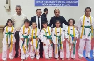 Eskişehir'de 'Tekvando Branşı Kuşak Sınavı'