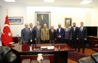 ESO'dan başkanlara hayırlı olsun ziyareti