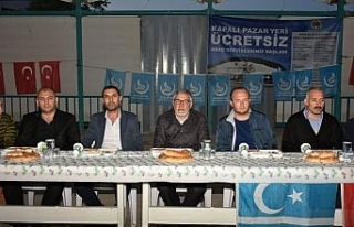 İnönü Ülkü Ocakları iftar programı düzenledi