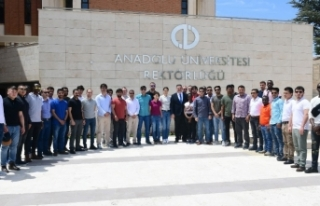 Polis Akademili yabancı uyruklu öğrencilerden Anadolu...