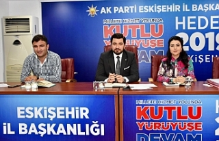 AK Parti Tepebaşı'ndan değerlendirme toplantısı