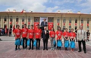 Atatürk'ün Eskişehir'e ilk gelişinin 99. yılı
