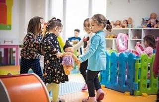 Erken Çocukluk Eğitim Merkezlerine yoğun ilgi