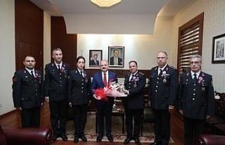 Vali Çakacak, Jandarma Teşkilatı'nın 180'inci...