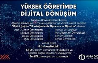 Anadolu Üniversitesi'nden yükseköğretimde dijital...
