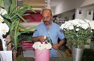 Çiçekçilerin yaz sezonu beklentisi