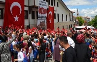 Eskişehir Birlik Vakfı Yaz Okulu öğrencileri 15...