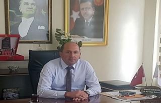 İlçe Başkanı Ergün'den makam aracı kullandı...
