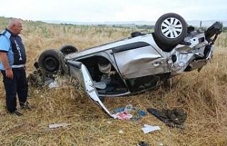 İnönü'de trafik kazası, 7 yaralı