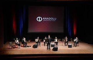 Kahramanlar Anadolu Üniversitesinde yapılan etkinliklerle...