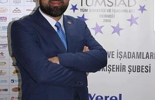 TÜMSİAD Eskişehir Şube Başkanı Ali Engiz'den...