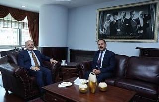 Vali Çakacak'tan Cumhuriyet Başsavcısı İrcal'a...