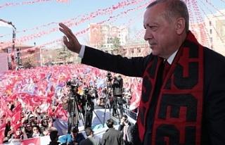 Cumhurbaşkanı Recep Tayyip ERDOĞAN Eskişehir'e...
