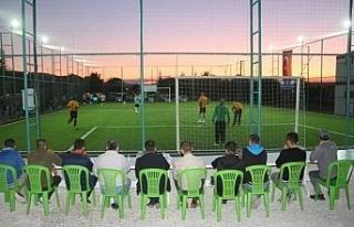 İnönü'de turnuva heyecanı başladı