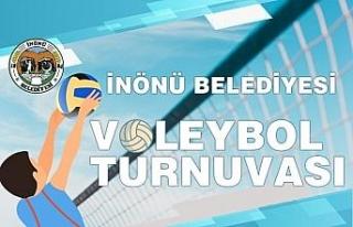 İnönü'de turnuva heyecanı voleybol ile devam...