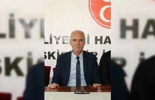 MHP Eskişehir İl Başkanı İsmail Candemir'den...