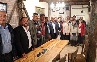 Milletvekili Günay'dan Han'a ziyaret
