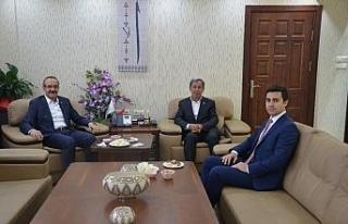 Ordu Valisi Yavuz, Günyüzü Belediye Başkanı Durgut'...