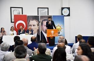 AK Parti Eskişehir'de ilçe danışma toplantıları...