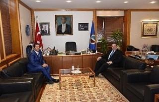 Eskişehir Cumhuriyet Başsavcısı İrcal, Rektör...