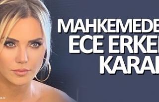 Sunucu Ece Erken pizzaya tükürme davasından beraat...