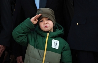 5 yaşındaki Yiğit'in gözyaşları Atatürk için...