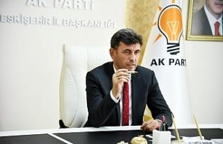 AK Parti İl Başkanı Çalışkan'dan ESKİ'nin...