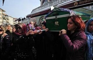 Cinayete kurban giden Ayşe Tuğba'nın cenazesi...